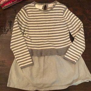 Zara Babygirl knit - 3/4T. Small hole in left slv